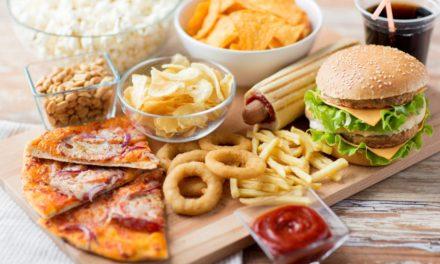 Processad mat minskar förbränningen
