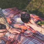 Smal av rödvin